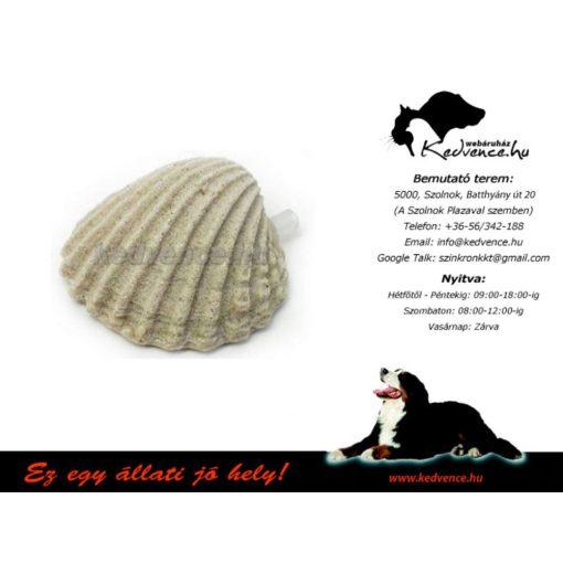 Porlasztó kő kagyló alakú
