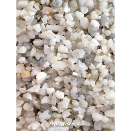 Liofil fehér gyöngy kavics 2-es 700 ml akvárium talaj