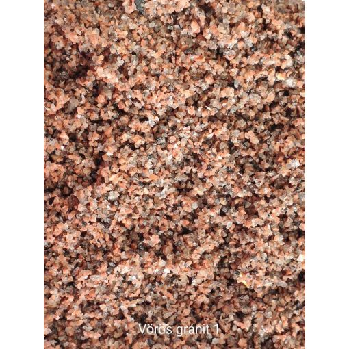 Liofil vörös gránit 1-es 700 ml akvárium talaj
