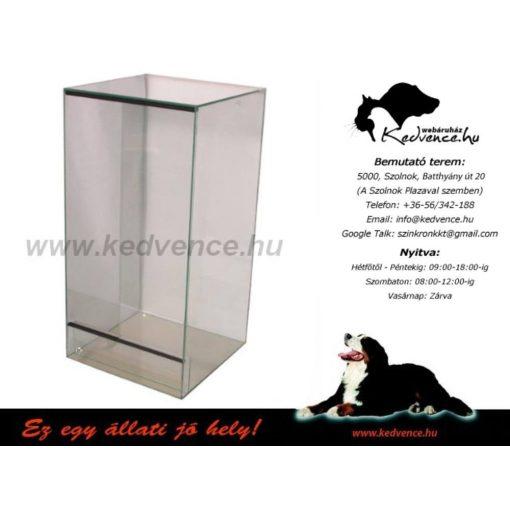 Aqua-Szut terrárium üveg 50x50x100CM