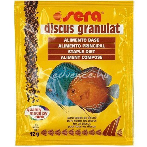 Sera Discus Granulat Diszkoshal eledel 12gr (Zacskós)