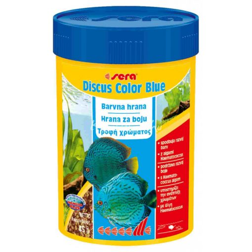 Sera Discus Color Blue Diszkoshal eledel 100ml