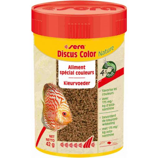 Sera Discus Color Red Diszkoshal eledel 100ml