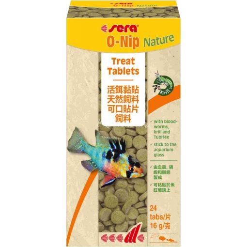 Sera O-Nip Nature Tablettás Díszhal eledel 24 tabl.