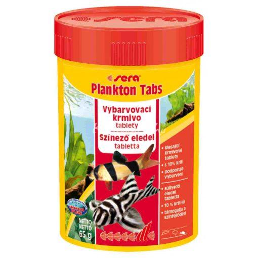 Sera Plankton Tabs Tablettás Díszhal eledel 100 ml / 275 tabl.