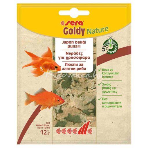 Sera Goldy Aranyhal eledel 12g (Zacskós)