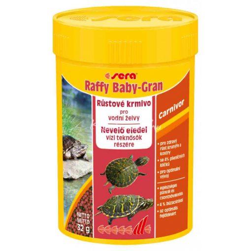 Sera Raffy Baby Gran Nature Teknős eledel 100ml