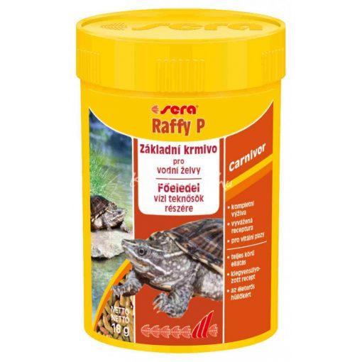 Sera Raffy P Nature Teknős eledel 100ml