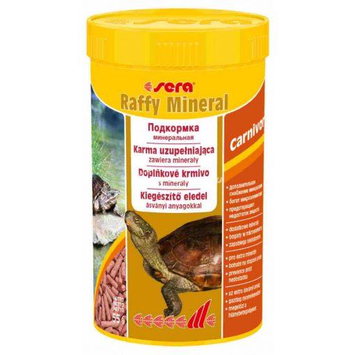 Sera Raffy Mineral Teknős eledel 250ml