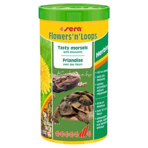 Sera Flowers 'n' Loops Teknős eledel 1000 ml