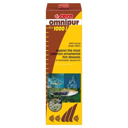 Sera Omnipur Akváriumi Gyógyszer 50ml  1000 liter vízhez