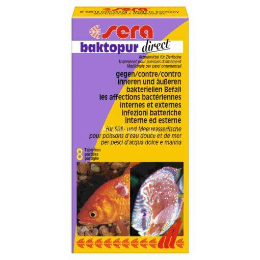 Sera Baktopur Direct Akváriumi Gyógyszer 8 tabletta