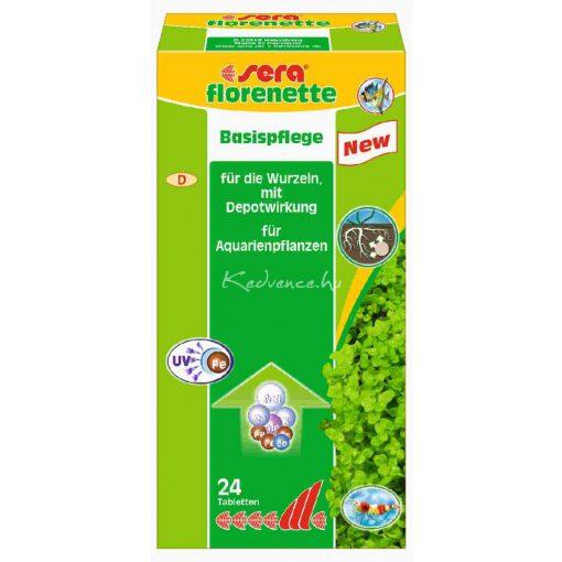 Sera Florenette A Növénytáp Tabletta 24 darabos - 480 liter vízhez