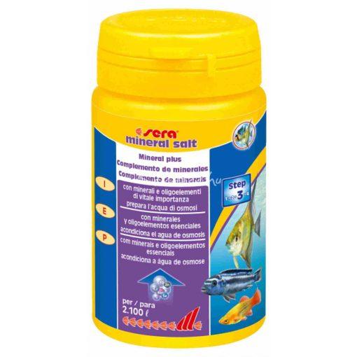 Sera Mineral Salt Vízkezelő és Vízelőkészítő 105gr