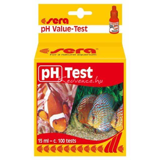 Sera pH-Test 15ml Akváriumi Vízteszt
