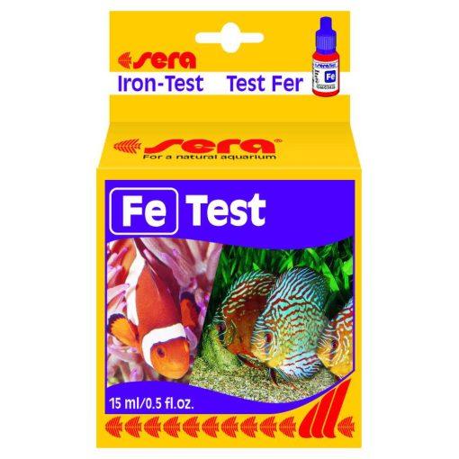 Sera Fe-Test 15ml Vas Akváriumi Vízteszt
