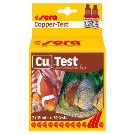 Sera Cu-Test 15ml Réz Akváriumi Vízteszt