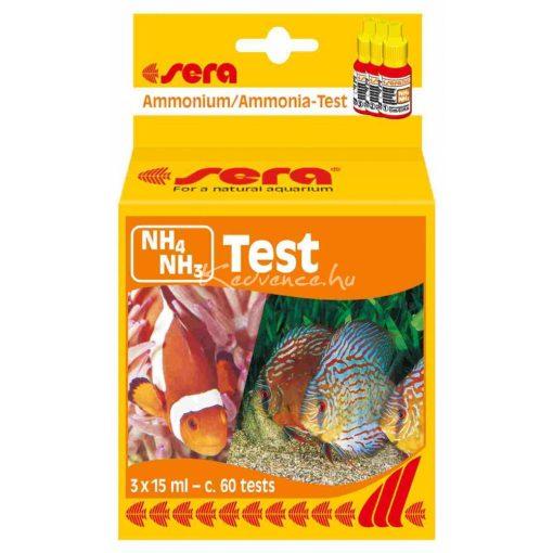 Sera NH4/NH3-Test 15ml Ammónium/Ammónia Akváriumi Vízteszt