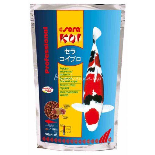 Sera Koi Professional Tavaszi - Őszi Táplálék 500g