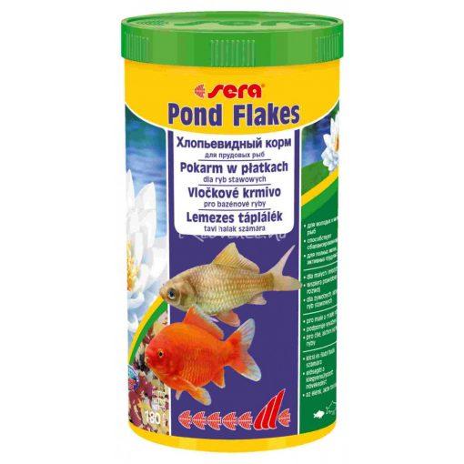 Sera Pond Bio Flakes Lemezes Tavi Haltáp 1L