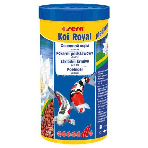 Sera Koi Royal HF Medium Tavi Hal eledel 1000 ml
