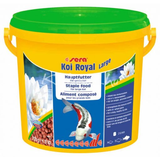 Sera Koi Royal HF Large Tavi Haltáp 3800 ml