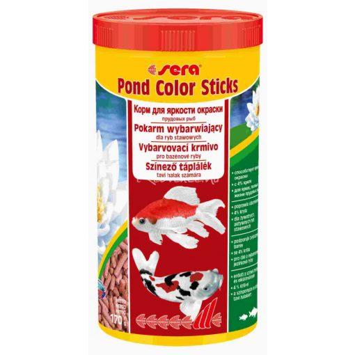 Sera Pond Color Sticks Tavi Haltáp 1000 ml