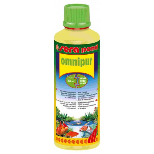 Sera Pond Omnipur Kerti Tavi Gyógyszer 250ml