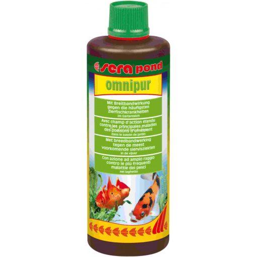 Sera Pond Omnipur Kerti Tavi Gyógyszer 500ml