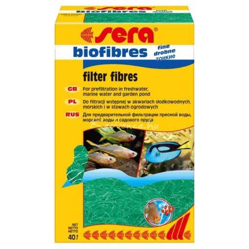 Sera Vékonyszálas Biofilter Akváriumi szűrőanyag 40 g