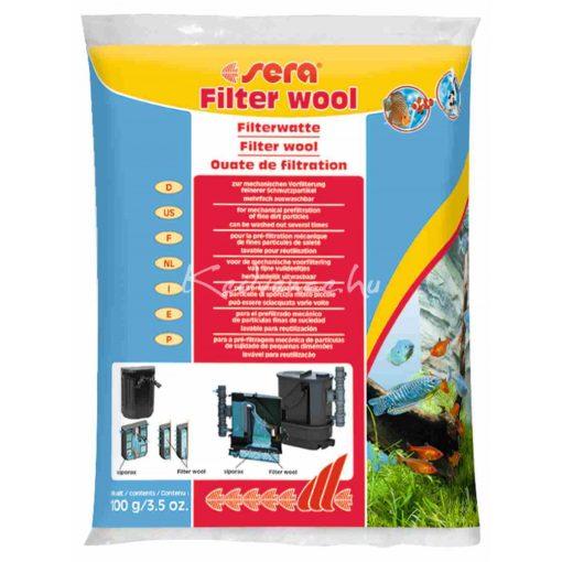 Sera Filtervatta Akváriumi szűrőanyag 100 g