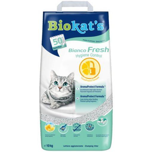 Biokat's Bianco Fresh 10kg Macska Alom