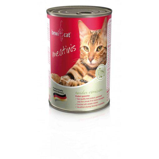 BEWI-CAT Meatinis Vadas 400gr Macska Konzerv