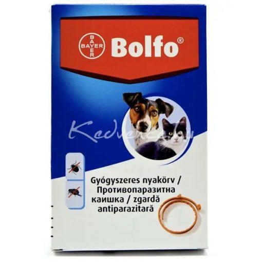 Bolfo bolha és kullancsnyakörv kistestű kutya és cica 35cm