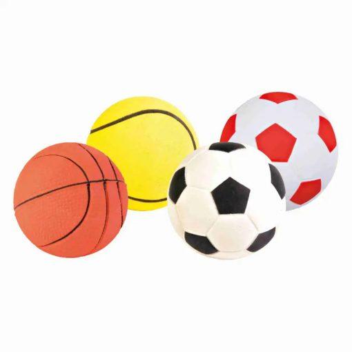 Trixie Neon Színű Játék Labda Kutyáknak 6cm