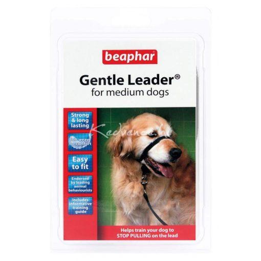 Beaphar Gentle Leader Fejhám - Közepes Méretű Kutyára, Fekete 1 db