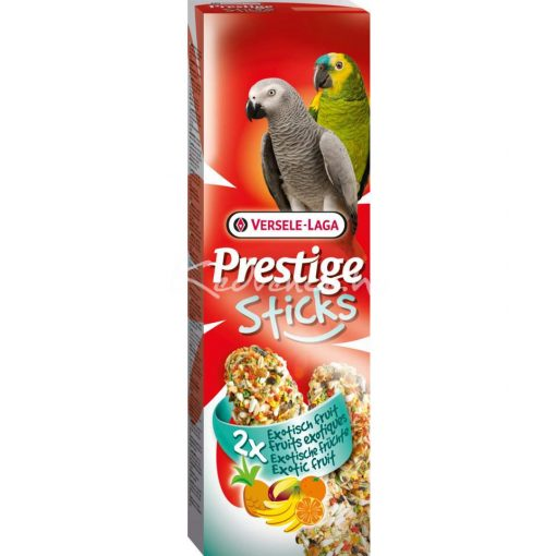 Prestige Sticks Parrots Exotic Fruit - 2 db magrúd papagájnak 140 g