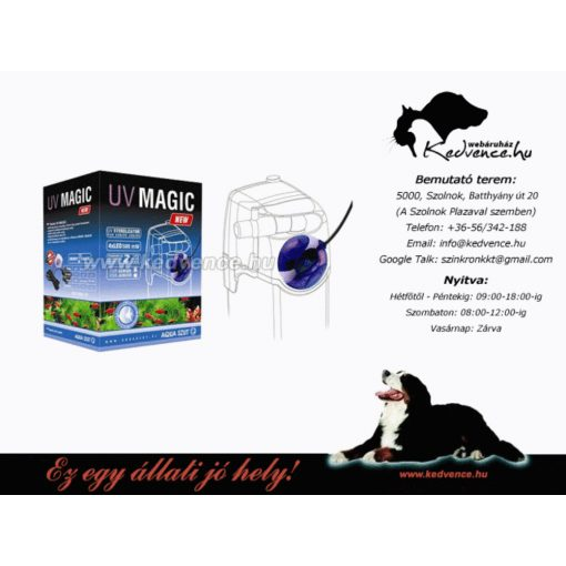 UV Lámpa Belső Szűrőhöz UV-Magic Junior N