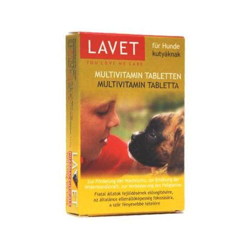 Lavet - Kutya Táplálékkiegészítő Multivitamin Tabletta 50db