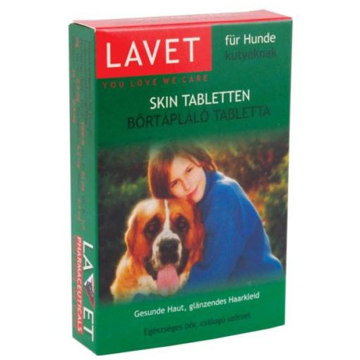 Lavet Bőrtápláló Tabletta 50db Kutya Táplálékkiegészítő