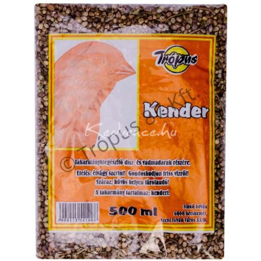 Trópus Kendermag 500 ml