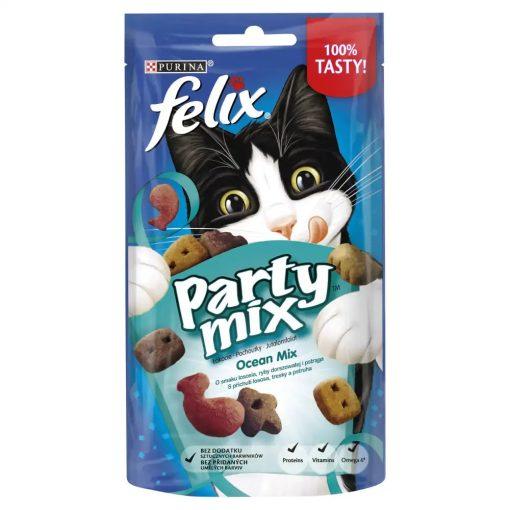 FELIX PARTY Ocean Mix macska jutalomfalat 60g