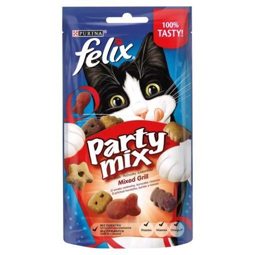 FELIX PARTY MIX Mixed Grill macska jutalomfalat 60g