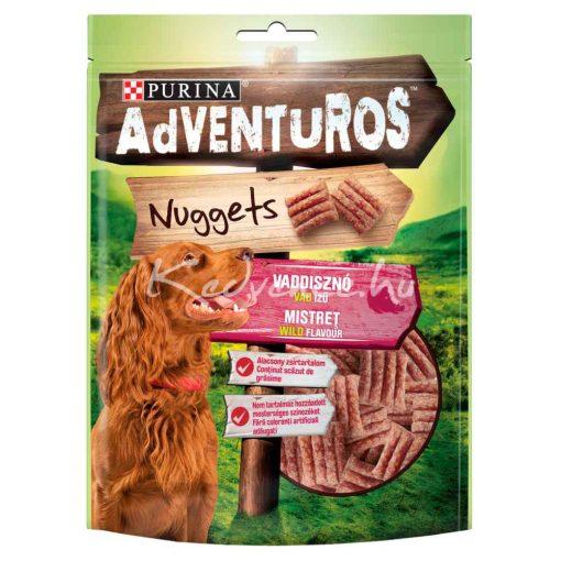 Purina Adventuros Nuggets - Vaddisznóhús Ízű falatok 90 g