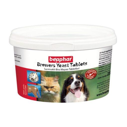 Beaphar Élesztőtabletta Fokhagymával Kutyáknak És Macskáknak 250 tabletta