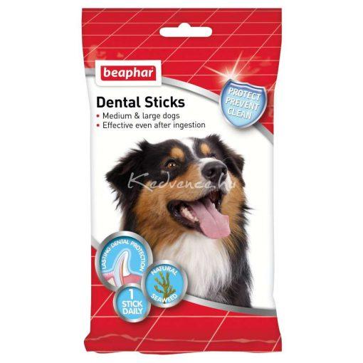 Beaphar Dental Sticks - Fogtisztító Rágórúd M/L - 7 Db 182 g