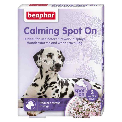 Beaphar Calming Spot On-Nyugtató Hatású Spot-On Kutyáknak (Valeriánakivonattal) 3 pipetta