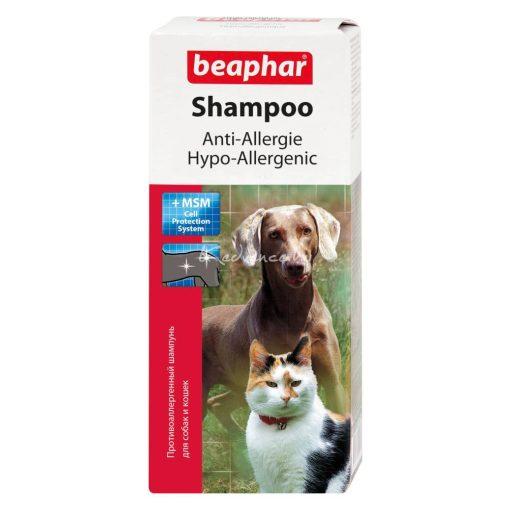 Beaphar Hypoallergén Sampon Kutyáknak És Macskáknak 200 ml
