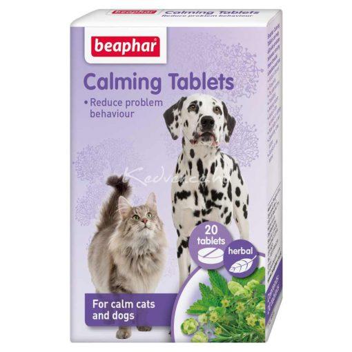 Beaphar Calming Tablets - Nyugtató Hatású Tabletta 20 db