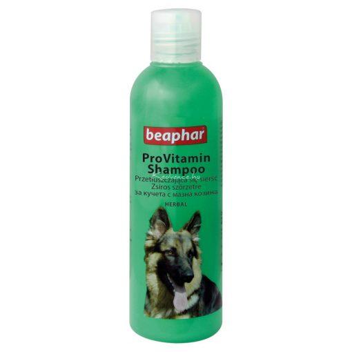 Beaphar Sampon Zsíros Szőrű Kutyáknak 250 ml